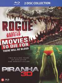 Rogue / Piranha 3D-3D Blu-Ray
