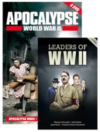 Apocalypse WW II box + Leaders of WW II (11 dvd's)