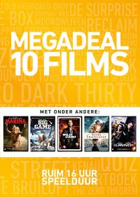 Megadeal 10 Films (Geel)-DVD