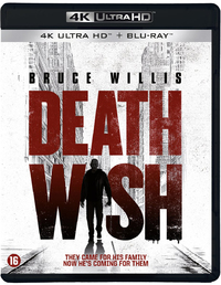 Death Wish (4K Ultra HD Blu-Ray)-4K Blu-Ray