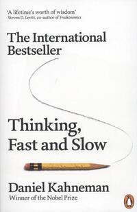 Thinking, fast and slow-Daniel Kahneman