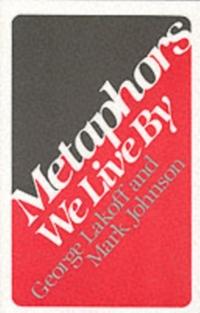 Metaphors We Live by-George Lakoff