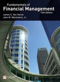 Fundamentals of Financial Management-James C. van Horne, John M. Wachowicz, Jr.