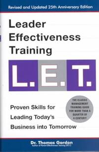 Leader Effectiveness Training, L.E.T-Thomas Gordon