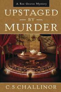 Upstaged by Murder-boek cover voorzijde