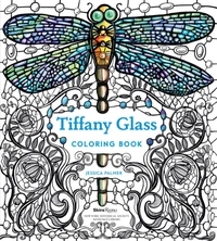 Tiffany Glass Coloring Book-Jessica Palmer