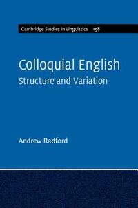 Colloquial English-Andrew Radford