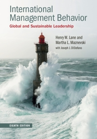 International Management Behavior-Harry W. Lane, Martha L. Maznevski