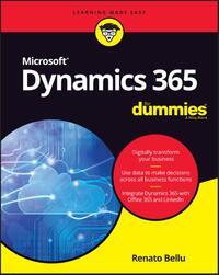 Microsoft Dynamics 365 for Dummies-Renato Bellu