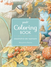 Posh Adult Coloring Book: Inspired by Nature-Marjolein Bastin