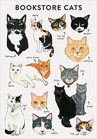 Bibliophile Flexi Journal: Bookstore Cats-