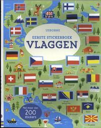 Eerste stickerboek vlaggen-