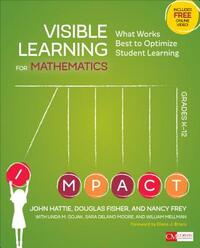 Visible Learning for Mathematics, Grades K-12-John Hattie