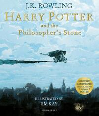 Harry Potter and the Philosopher's Stone. Illustrated Edition-Joanne K. Rowling