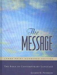 The Message Bible-Eugene H. Peterson