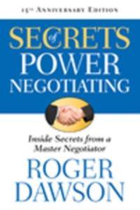 Secrets of Power Negotiating-Roger Dawson