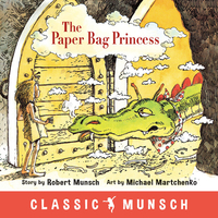 The Paper Bag Princess-Robert Munsch