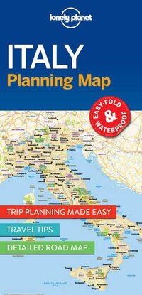 Lonely Planet - Italy Planning Map-Lonely Planet