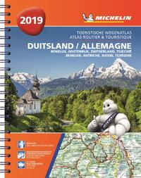 Atlas Michelin Duitsland, Oostenrijk, Zwitserland 2019-