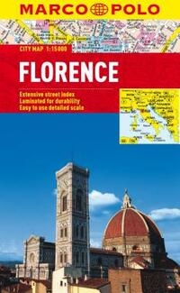 Florence Marco Polo City Map-Marco Polo Travel Publishing