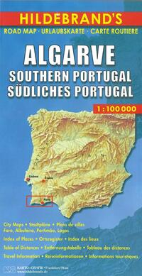 Road Map - Algarve, Südliches Portugal-