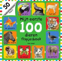 Mijn eerste 100 dieren flapjesboek-Amy Oliver, Natalie Munday, Nicola Friggens, Roger Priddy