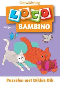 Dikkie Dik: Bambino loco Puzzelen met Dikkie Dik 3-5 jaar-Jet Boeke, Michael Junga