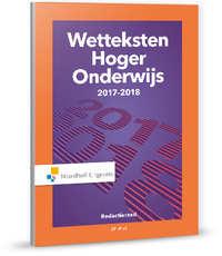 Wetteksten Hoger Onderwijs 2017-2018-