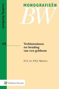 Verbintenissen tot betaling van een geldsom-F.H.J. Mijnssen
