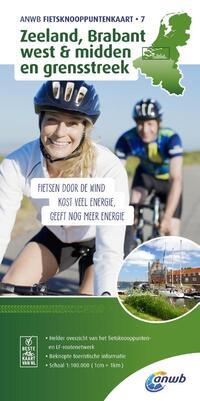 ANWB fietsknooppuntenkaart 7 - Zeeland, Brabant west & midden en grensstreek-Anwb