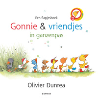 Gonnie & vriendjes in ganzenpas (flapjesboek)-Olivier Dunrea