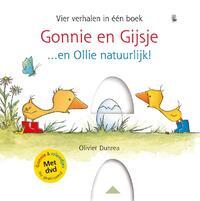 Gonnie en Gijsje...en Ollie natuurlijk! (met CD)-Olivier Dunrea
