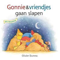 Gonnie & vriendjes gaan slapen (voelboek)-Olivier Dunrea
