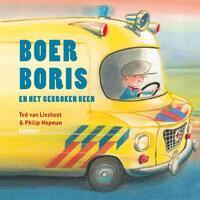 Boer Boris en het gebroken been-Ted van Lieshout