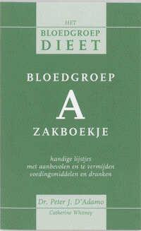Bloedgroep A zakboekje-C. Whitney, P. d'Adamo