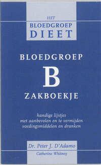 Bloedgroep B zakboekje-C. Whitney, P. d'Adamo