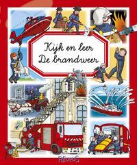Kijk en leer - De brandweer-Marie-Laure Bouet, Philippe Simon
