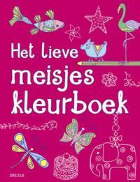 Het lieve meisjes kleurboek-