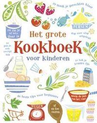 Het grote kookboek voor kinderen-Abigail Wheatley