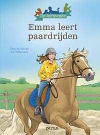 De leesbende - Emma leert paardrijden-Cora de Vos