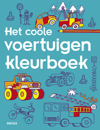 Het coole voertuigen kleurboek-Redactie Deltas