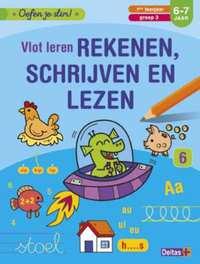 Vlot leren rekenen, schrijven en lezen (6-7 j.)-Znu