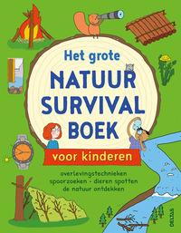 Het grote natuur survivalboek voor kinderen-Chris Oxlade