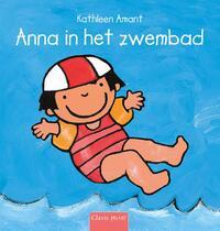 Anna in het zwembad-Kathleen Amant