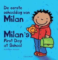 De eerste schooldag van Milan - Milan's first day at school-Kathleen Amant