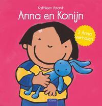 Anna en konijn-Kathleen Amant