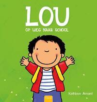 Lou op weg naar school-Kathleen Amant