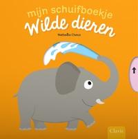 Mijn schuifboekje. Wilde dieren-Nathalie Choux