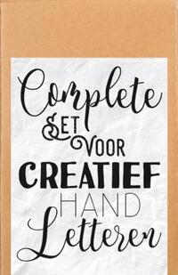 Complete set voor creatief handletteren-