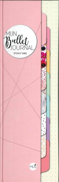 Mijn bullet journal - sticky tabs-